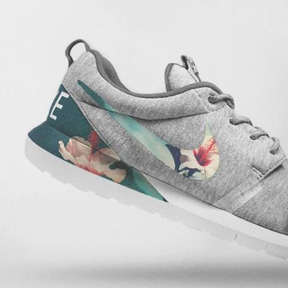 Image de Nike Floral Roshe Customized Running Shoes