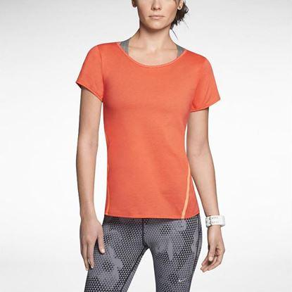 Image de Nike Tailwind Loose Short-Sleeve Running Shirt